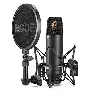 Microfone Profissional Rode NT1 Condensador