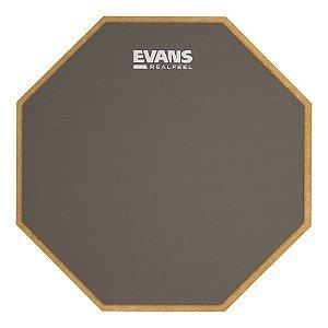 """Pad de Velocidade Evans RF12G 12"""" RealFeel Cinza"""