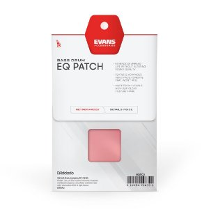 Pad Protetor para  Pele De Bumbo EQ PATCH Pedal Duplo (X2) Evans EQPC2