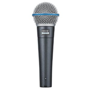 Microfone Dinâmico Shure Beta 58A Supercardioide