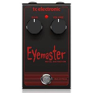 Pedal Tc Electronic Eyemaster Metal Distortion
