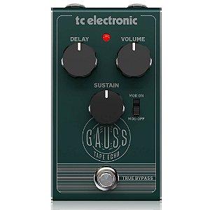 Pedal Tc Electronic Gauss Tape Echo Delay