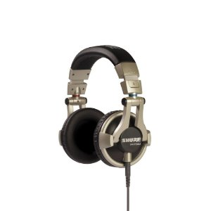 Fone de ouvido circumaural profissional para DJ com fio - SRH550DJ - Shure