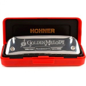 Harmonica HOHNER 542/20 - F Golden Melody