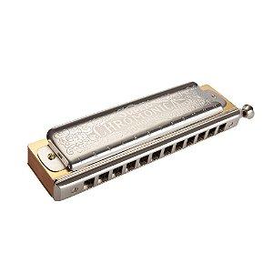 Harmônica HOHNER 7540/48 C Chromonica Deluxe