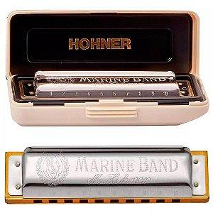 Harmonica  HOHNER 1896/20 - EB Marine Band (MI BEMOIS)