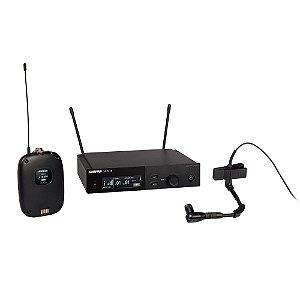Sistema sem fio com bodypack e microfone para instrumentos - SLXD14/98H-G58 - Shure