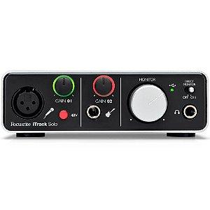Interface de Audio  Focusrite - ITRACK SOLO LIGHTNING