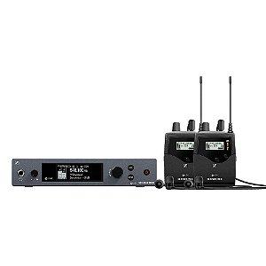 Sistema de Monitoramento Sennheiser EW IEM G4-TWIN-G Sem Fio