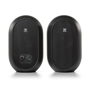Caixa Acústica Monitor Jbl 104BT 62W Preto Bluetooth