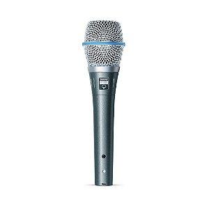 Microfone com fio condensador supercardioide - BETA 87A - Shure