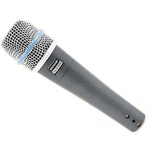 Microfone com fio dinamico supercardioide de alto ganho - BETA 57A -  Shure