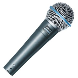 Microfone com fio dinamico supercardioide de alto ganho - BETA 58A -  Shure
