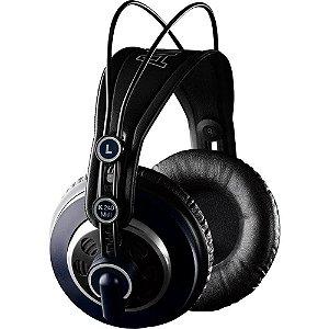 Fone de Ouvido Akg K240 MKII Profissional Over-Ear Preto