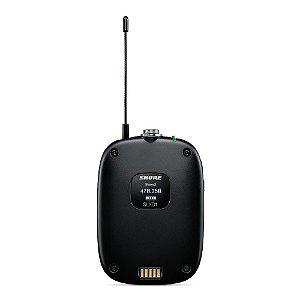 Transmissor bodypack para sistema de microfone sem fio - SLXD1-G58 - Shure