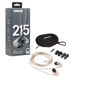 Fone de ouvido In-ear com fio - SE215-CL - Shure