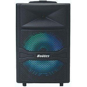 Caixa Acústica Ativa Bootes BTU-512 200W com Microfone