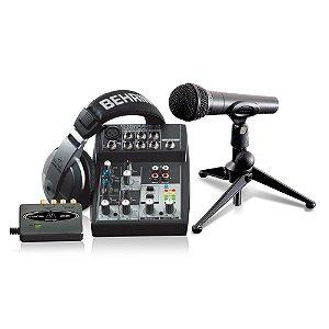 Kit estudio - PODCASTUDIO 2 USB - Behringer