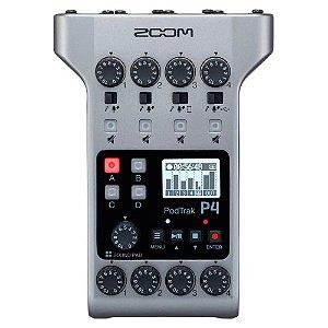 Gravador de Áudio Zoom Podtrack P4