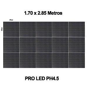 Painel de Led Proled PH-4,5mm Black Indoor com Case