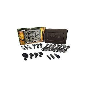 Kit de Microfone para Bateria com 7 pecas - PGADRUMKIT7 - Shure