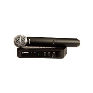 Sistema de Microfone Sem Fio para Vocais - BLX24BR/SM58-M15 - Shure