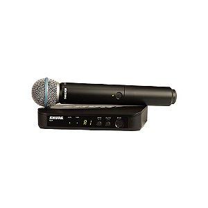 Sistema sem fio com microfone de mao - BLX24BR/B58-J10 - Shure