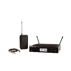 Sistema de Microfone sem fio com headset e bodypack - BLX14RBR-M15 - Shure