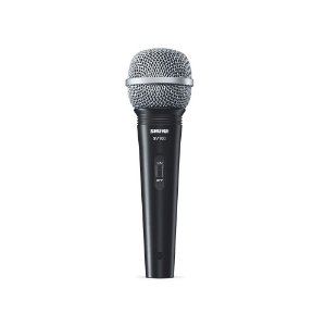 Microfone unidirecional cardioide com fio para karaoke e vocais - SV100 - Shure