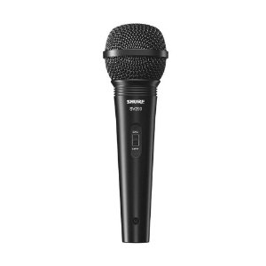 Microfone unidirecional cardioide com fio para karaoke e vocais - SV200 - Shure