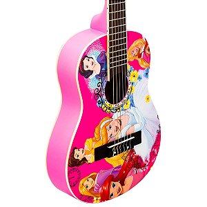 """Violão Acústico Infantil Phx Vip-5 1/2 30"""" Princesas"""