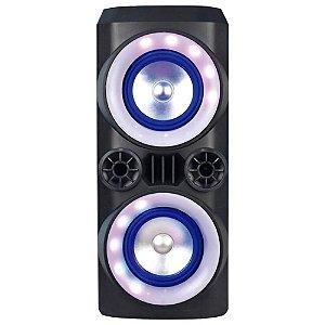 Caixa de Som Multilaser Neon X 300W Mini Torre Bluetooth/USB