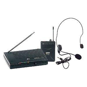 Microfone Headset SKP Pro Audio VHF895 Sem Fio