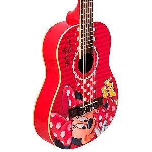"""Violão Acústico Infantil Phx Vid-Mn1 1/2 30"""" Minnie"""