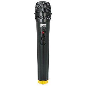 Microfone de Mão SKP Pro Audio VHF695 Sem Fio