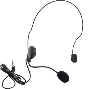 Microfone Sem Fio SKP UHF Mini-V Head Set Cabeça