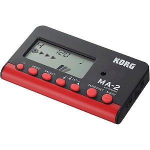 Metrônomo Digital Korg MA-2 BKRD Preto e Vermelho