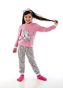 Pijama com Calça Feminino Infantil