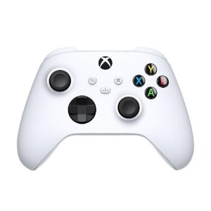 Controle Sem Fio Xbox Series X|S, Xbox One, PC com Windows 10 - Branco