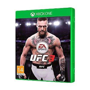 Jogo UFC 3 para Xbox One
