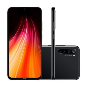 Xiaomi Redmi Note 8 4GB Ram 64GB Camera 48+8+2+2MP -Preto