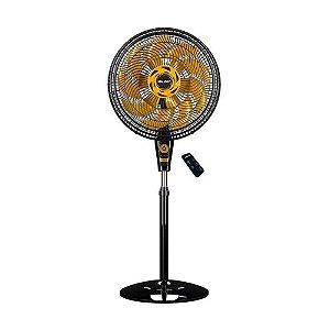 Ventilador de Coluna, Neo Air 15 Air Timer TS+, Preto/Dourado, 110v, Mallory
