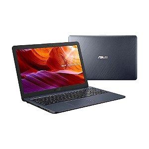 Notebook Asus Laptop X543UA- Core I3 / 4 GB / 256 GB SSD  / Win 10 / Cinza Escuro