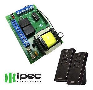 Placa Central Automatizador Portão Garen P3000 + 2 Controles