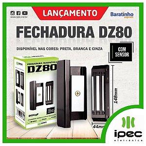 Fechadura Magnética Dz 80 Para Portas De Vidro Deslizante