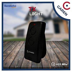 Controle Remoto Tx Light Portão Alarme 433 Mhz Garen