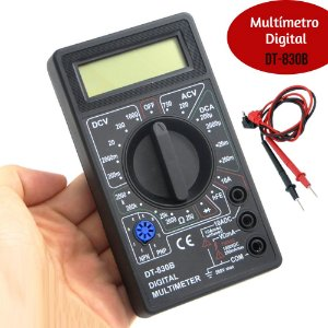 Multímetro Digital Portátil Dt-830b Profissional
