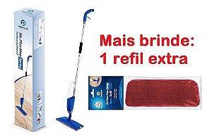 Spray Mop Mágico Com Reservatório Refil Microfibra Mr. Plus