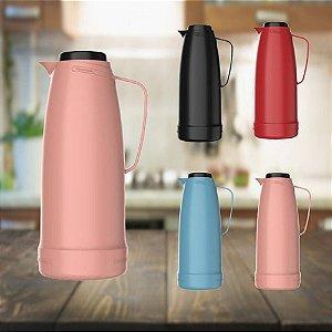 Garrafa Térmica 1 Litro Bule Dama Termolar Chá Café Leite