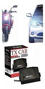 Tx Car Mini Controle Para Portão Universal Farol Alto Carro